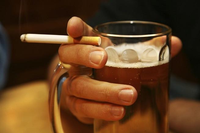 Smoking Alcohol Safe